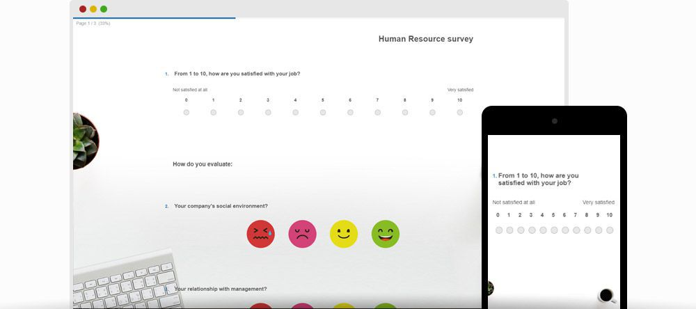 Employee surveys template