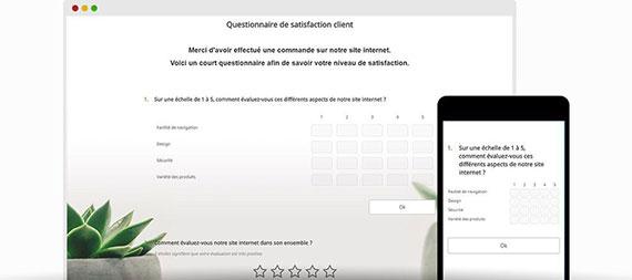 Exemple questionnaire de satisfaction client | Eval&GO